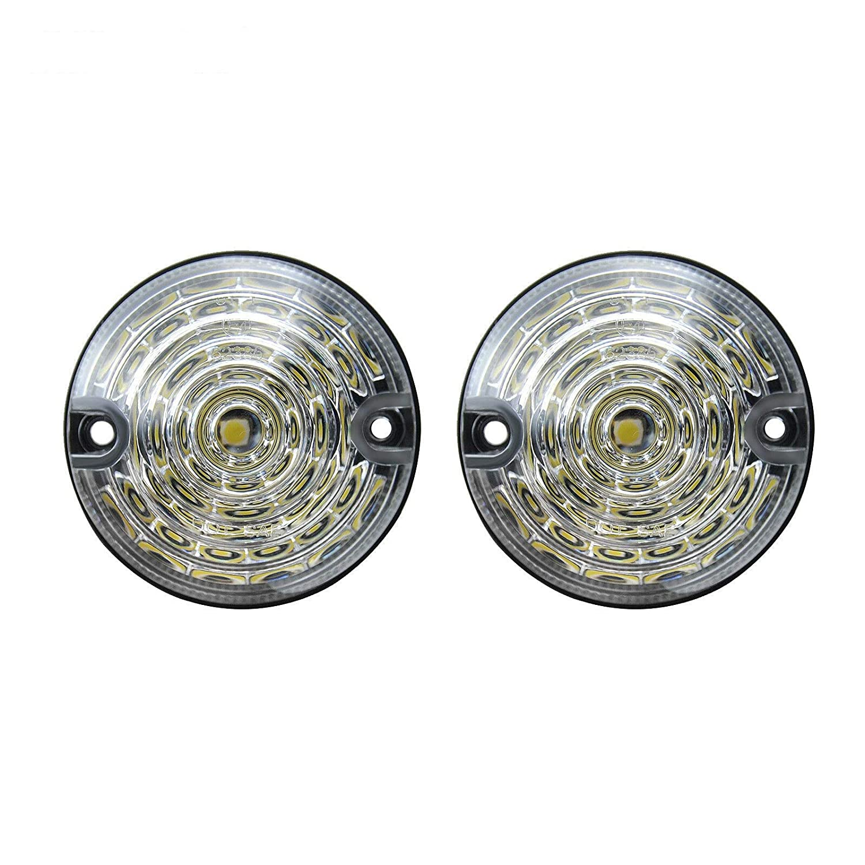 Feu de position lat/éral /à LED transparent pour Defender 90//110 1983~1990 1990-2016