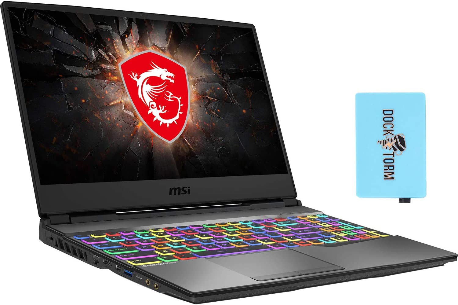MSI GP65 Leopard 10SDK-433 Gaming and Entertainment Laptop (Intel i7-10750H 6-Core, 32GB RAM, 1TB PCIe SSD, NVIDIA GTX 1660 Ti, 15.6