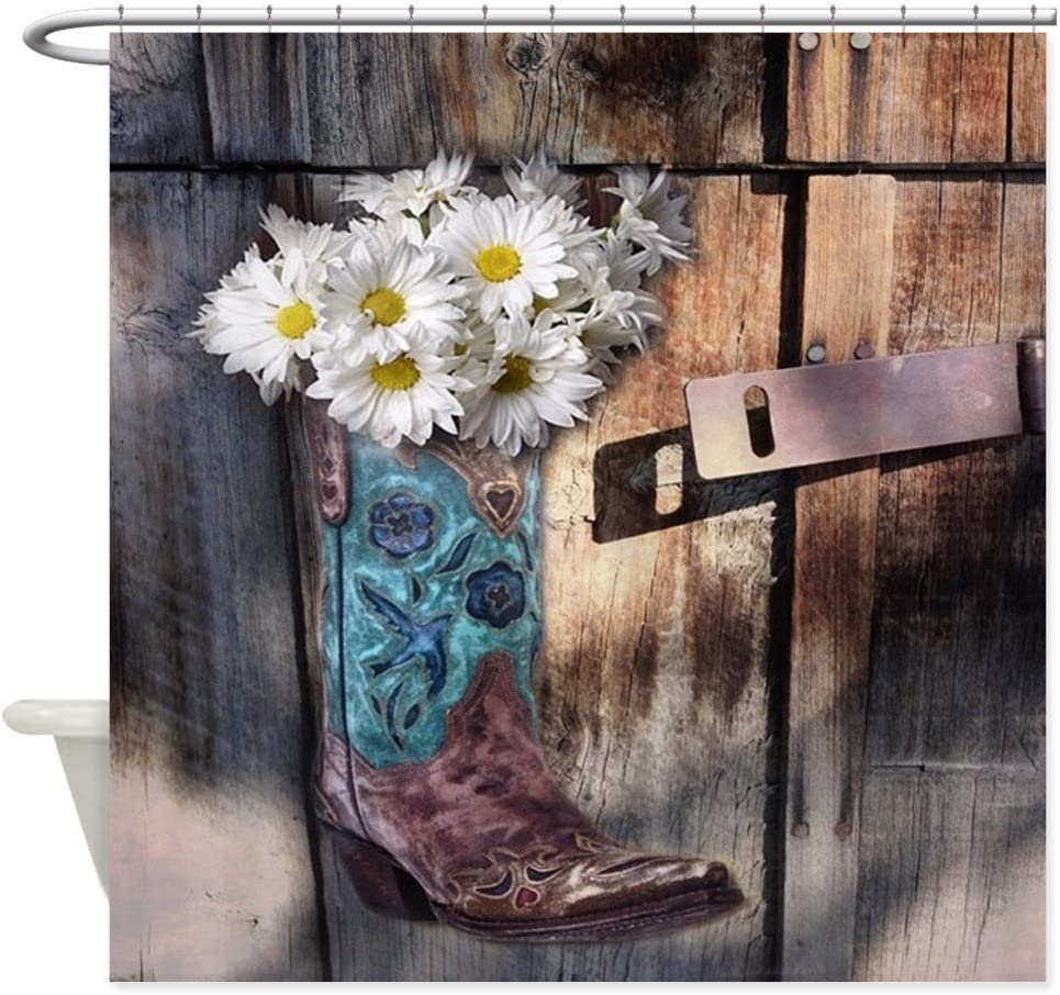 WESTERN SET OF 2 BATH HAND//GUEST TOWELS,SPANISH GRAY COWBOY BOOTS AND HATS
