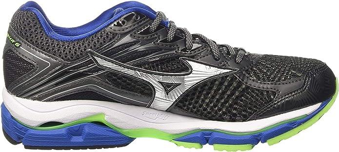 Mizuno Wave Rider 20 (W) - Zapatillas de Running Hombre, Gris (Dark Shadow/silver/nautical Azule), 42.5 EU: Amazon.es: Zapatos y complementos