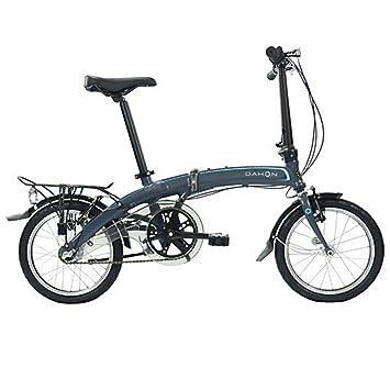 Dahon Faltrad CURVE i3 3 Gang ND Grau 16 Zoll Faltrahmen Klapp Fahrrad Shimano Nexus Aluminium