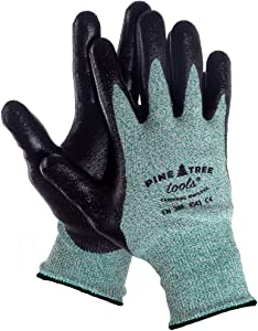 Pine Tree Tools Ultra Strong Mens Safety Work Gloves With Advanced Grip - XL