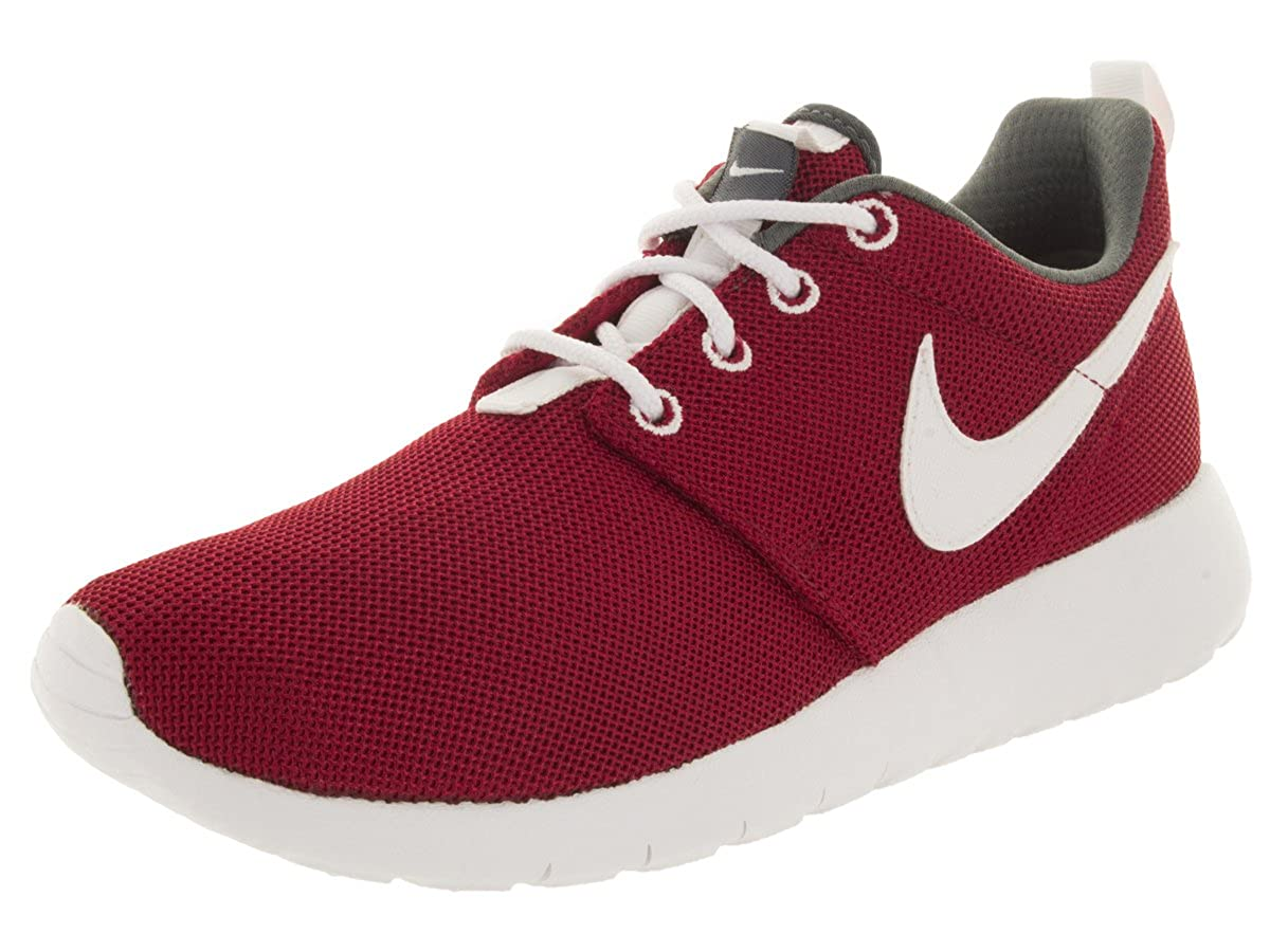 cb6649fe836 Nike Youth Roshe One (Gym Red White Dark Grey)(4. 5 M US Big Kid)  Buy  Online at Low Prices in India - Amazon.in