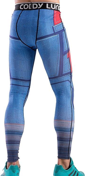 Cody Lundin Impreso Polainas Masculina de película héroe Logo ...