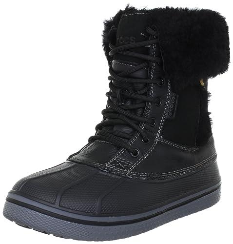 de1d87e427a92 Crocs Women s Allcast Luxe Duck Winter Boot