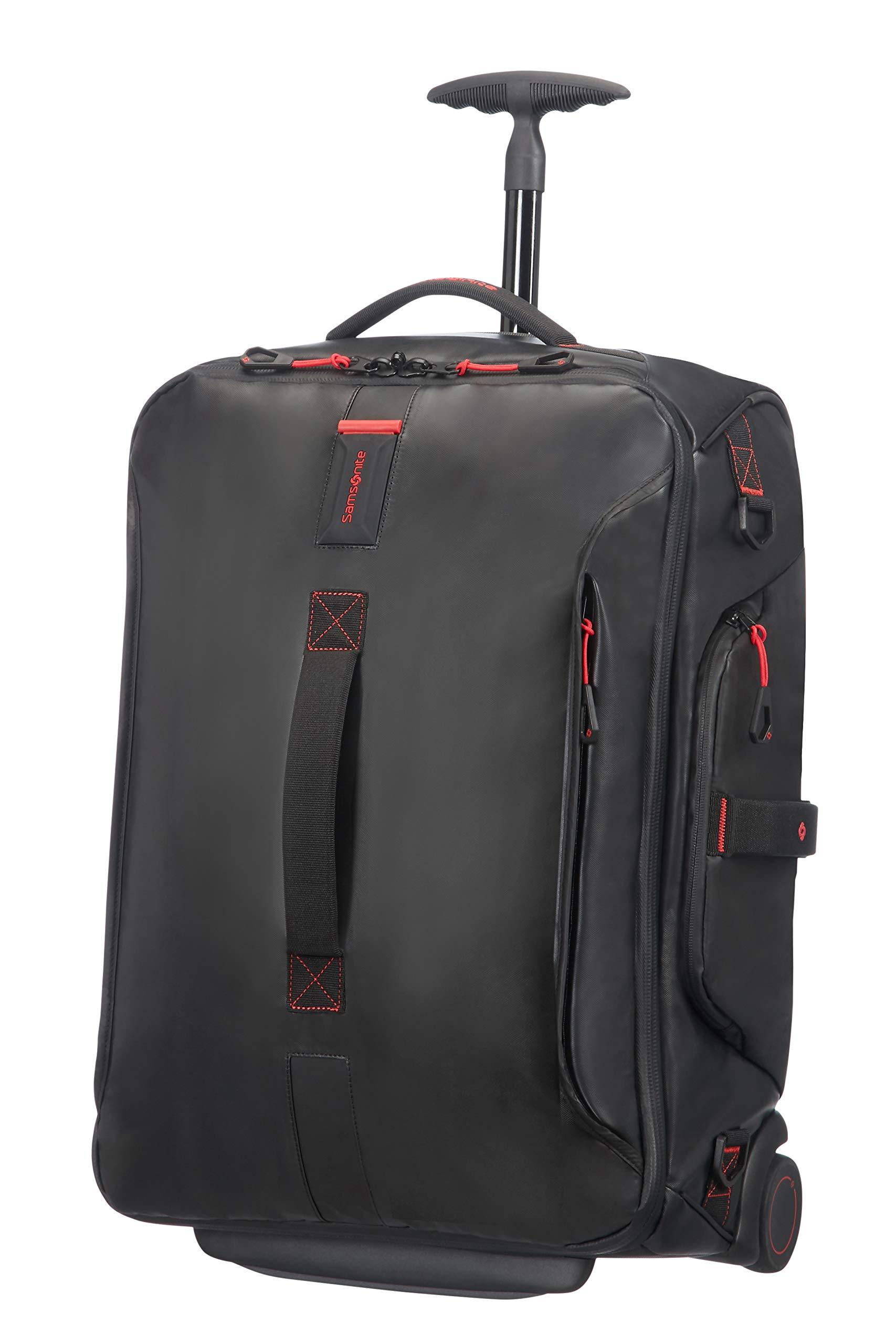 Samsonite New Paradiver Light Duffle on Wheels 55cm Backpack Black