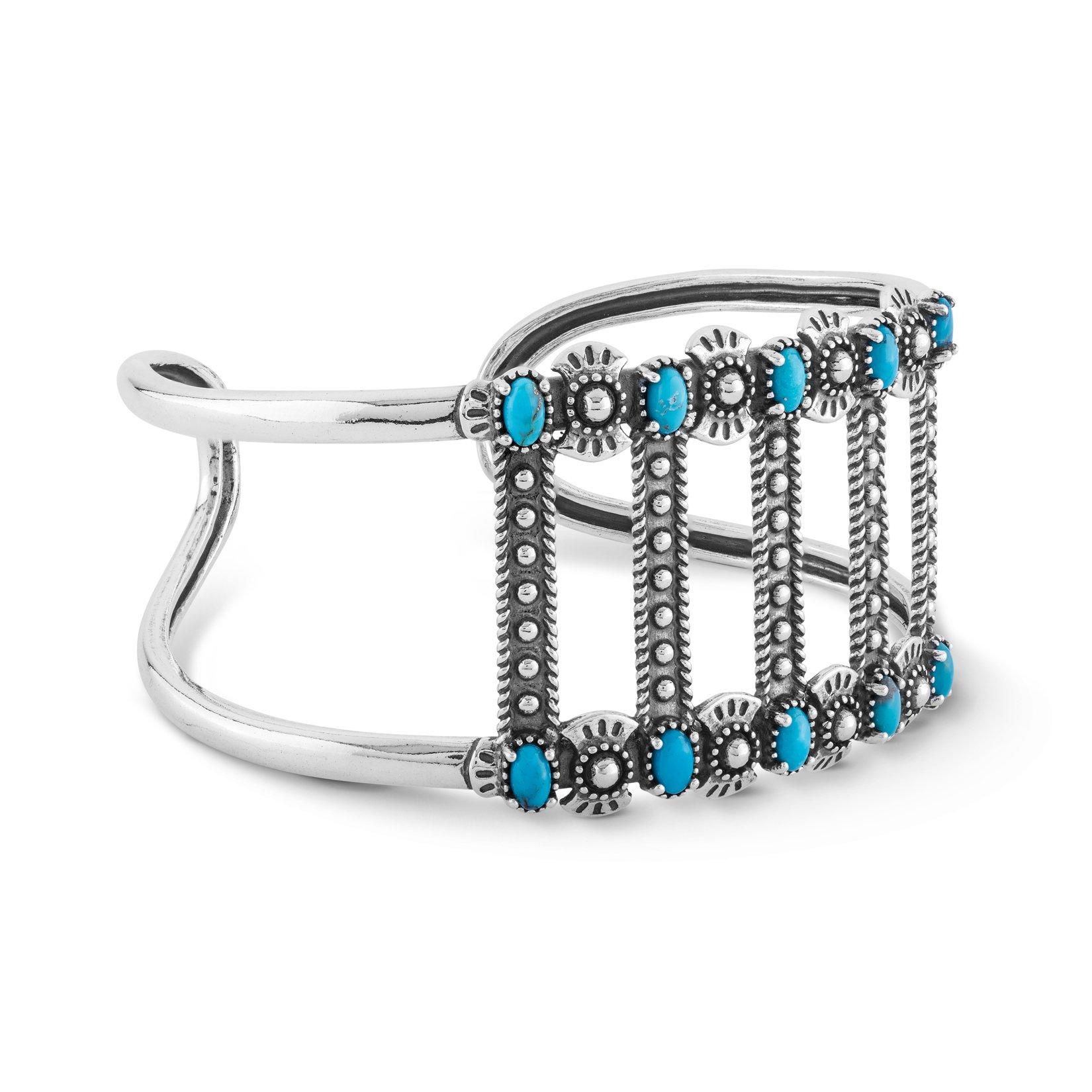 American West Turquoise Bar Bracelet