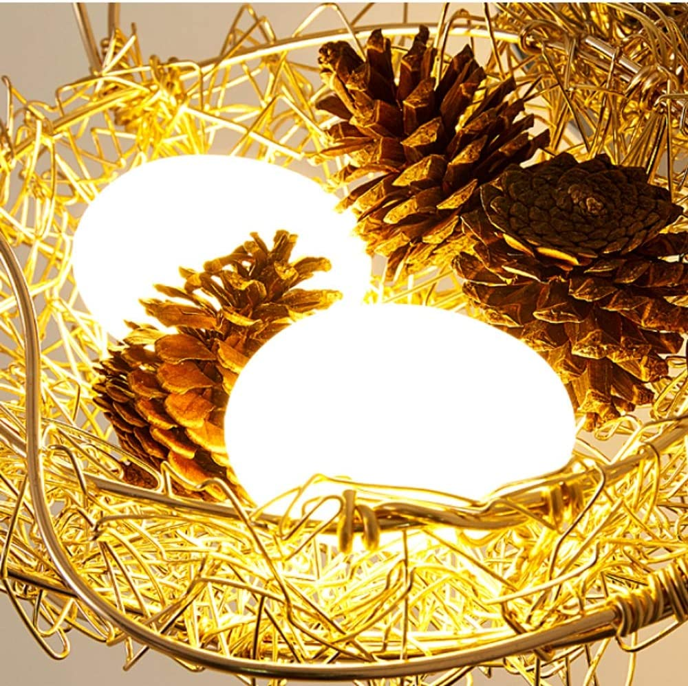 Details about  /New modern bird/'s nest wall lamp creative children/'s room decorative LED sconce