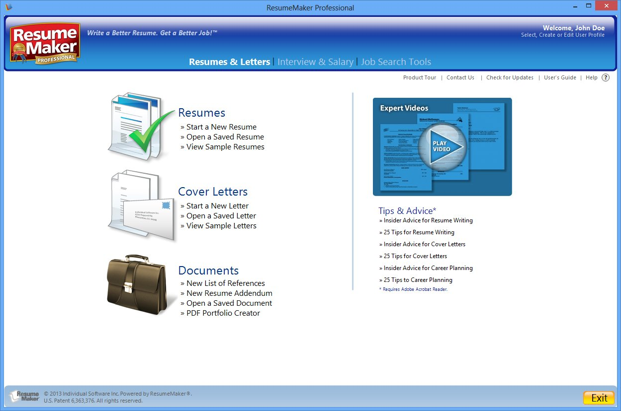 Exceptional Amazon.com: ResumeMaker Professional Deluxe 18   Free 1 Day Trial  [Download]: Software To Resumemaker