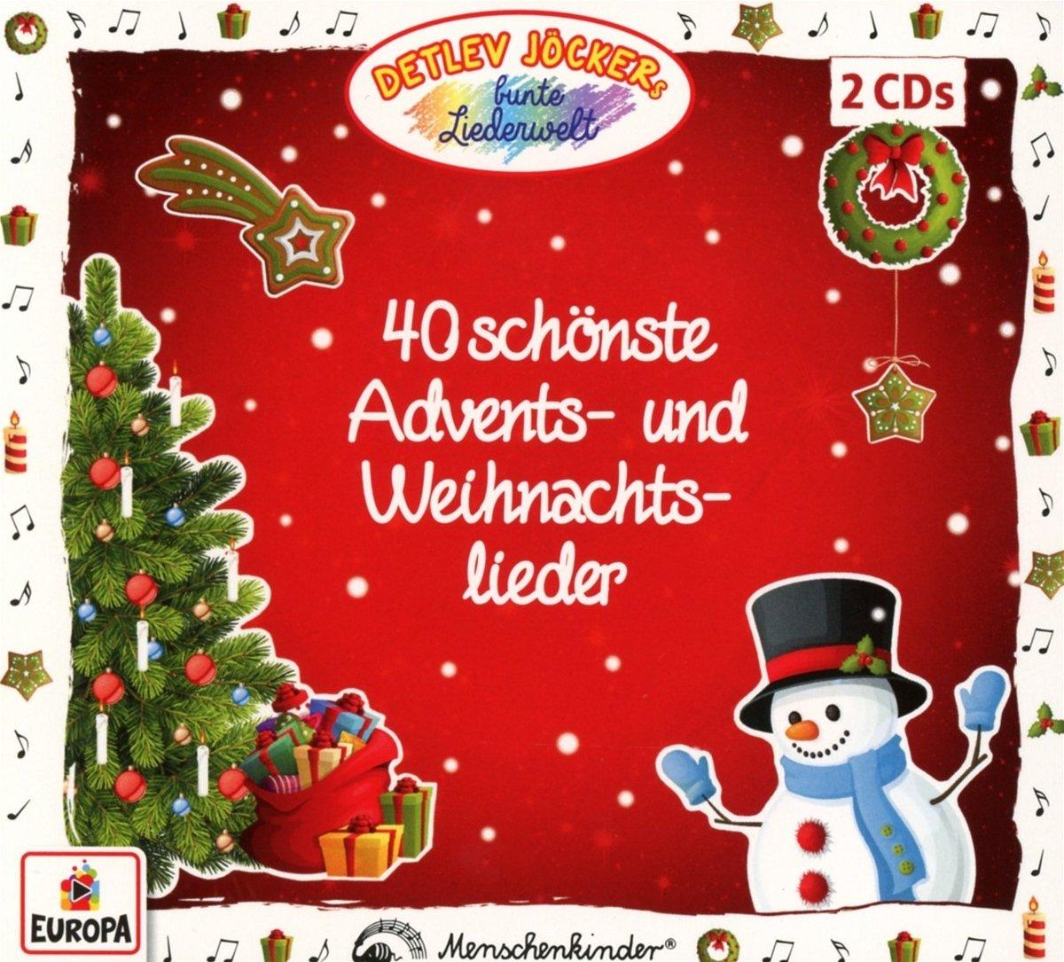40 Schönste Advents-und Weihnachtslieder - Detlev Jöcker: Amazon.de ...