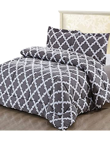5293436e6ba5 Utopia Bedding Printed Comforter Set (Full Queen