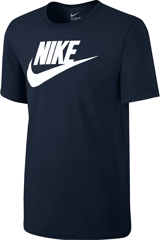 Nike Futura Icon Men's Short Sleeved T Shirt PewterWolf Deep