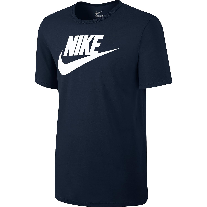 53367b94 Nike Futura Icon Men's Short-Sleeved T-Shirt Pewter/Wolf Deep: Nike:  Amazon.co.uk: Sports & Outdoors