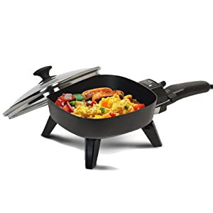 Continental CE23721 Small Electric Grill