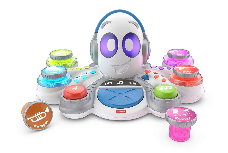 Fisher-Price FKC37 Think and Learn Rocktopus, Aktivitäts-Lernspielzeug, Kinderroboter, Lernspielzeug für 3 Jahre, mit Musik und Lichtern Mattel FWF81