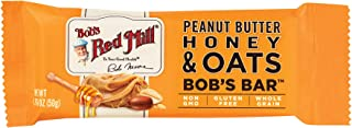 product image for Bob's Red Mill Peanut Butter Honey & Oat Bob's Bars, (Case of 12)