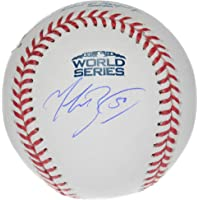 $259 » Mookie Betts Boston Red Sox Autographed 2018 World Series Logo Baseball - Fanatics Authentic Certified