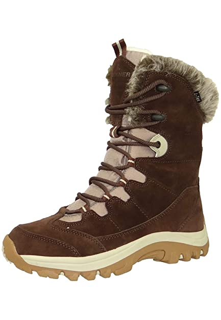 Lackner Women S Winter Boots Winter Boots 7402 Saskia Ls Tx Brown