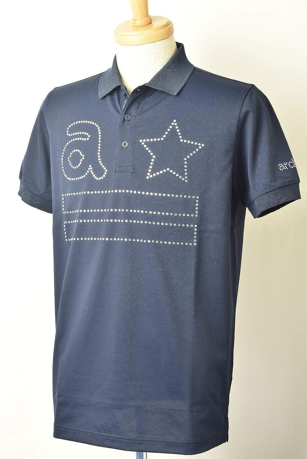 (アルチビオ) archivio 半袖ポロシャツ メンズ ゴルフ a869308 M(46) ネイビー(060) B07S2LRXFH