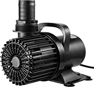 VIVOSUN 9000GPH Submersible Water Pump 620W Ultra Quiet Pump with 20.3ft Power Cord High Lift for Pond Waterfall Fish Tank Statuary Hydroponic