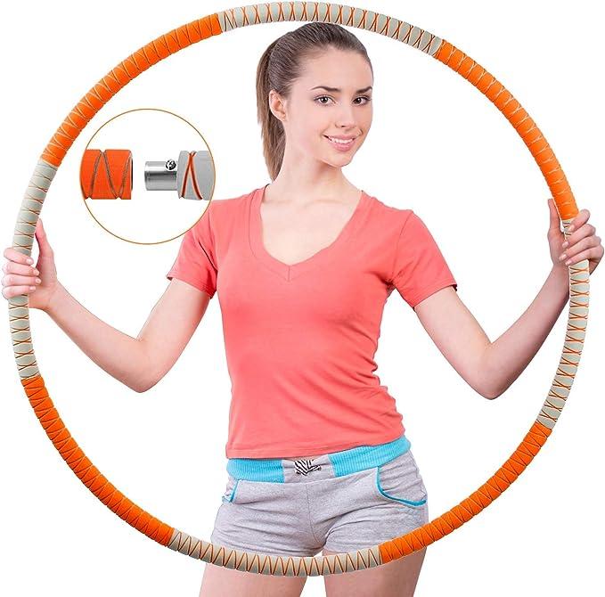 Hula Hoop 560 Gramm 86cm Reifen Hulla Gymnastik Sportreifen Turnen