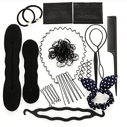 turelifes Hair Styling Rizador Set, juego de herramienta de pelo Twist accesorios moda mujeres Magic