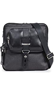 401be980b573 TUMI - Alpha Bravo Arnold Zip Flap Crossbody Bag - Leather Messenger Bag  for Men and
