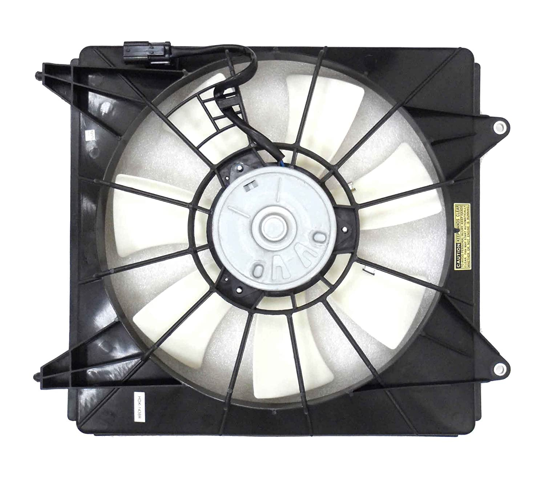 Depo 317-55042-101 Radiator Fan Assembly HONDA ACORD COUPE//SEDAN 2.4L 08-12 PASSENGER SIDE