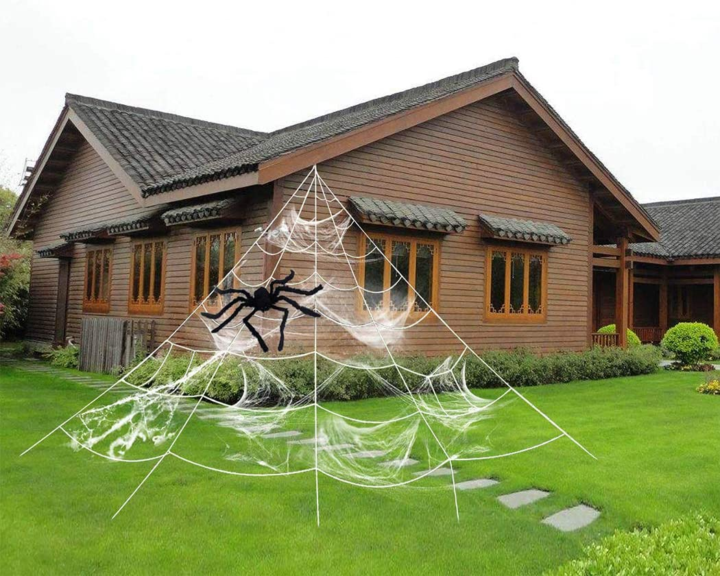 Dekoration Halloween Spinnennetz
