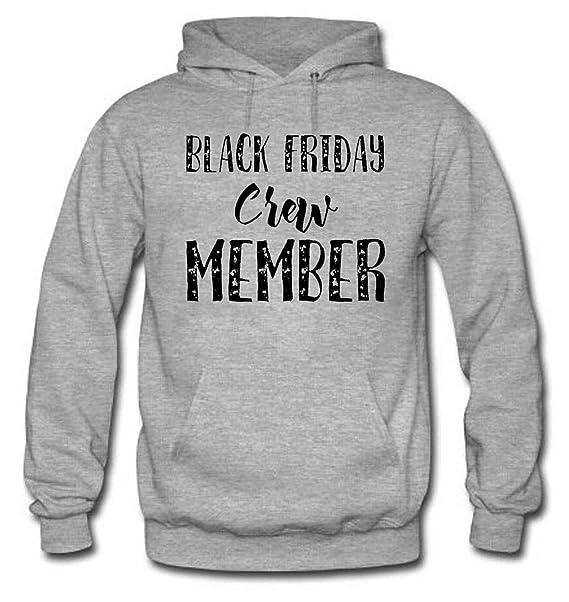 gSZFGR Black Friday Crew Member Womens Long Sleeve Cotton Hoodie