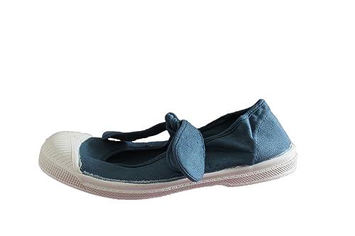 07648655969db bensimon-Ballerine bensimon flo-Bleu-Fille  Amazon.fr  Chaussures et ...
