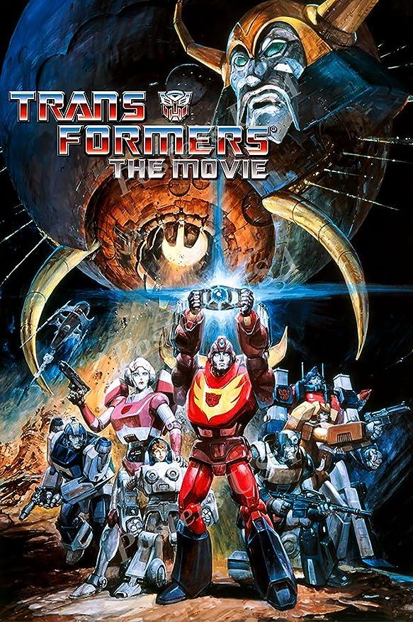 Amazon.com: Posters USA - Transformers The Movie Original Classic ...