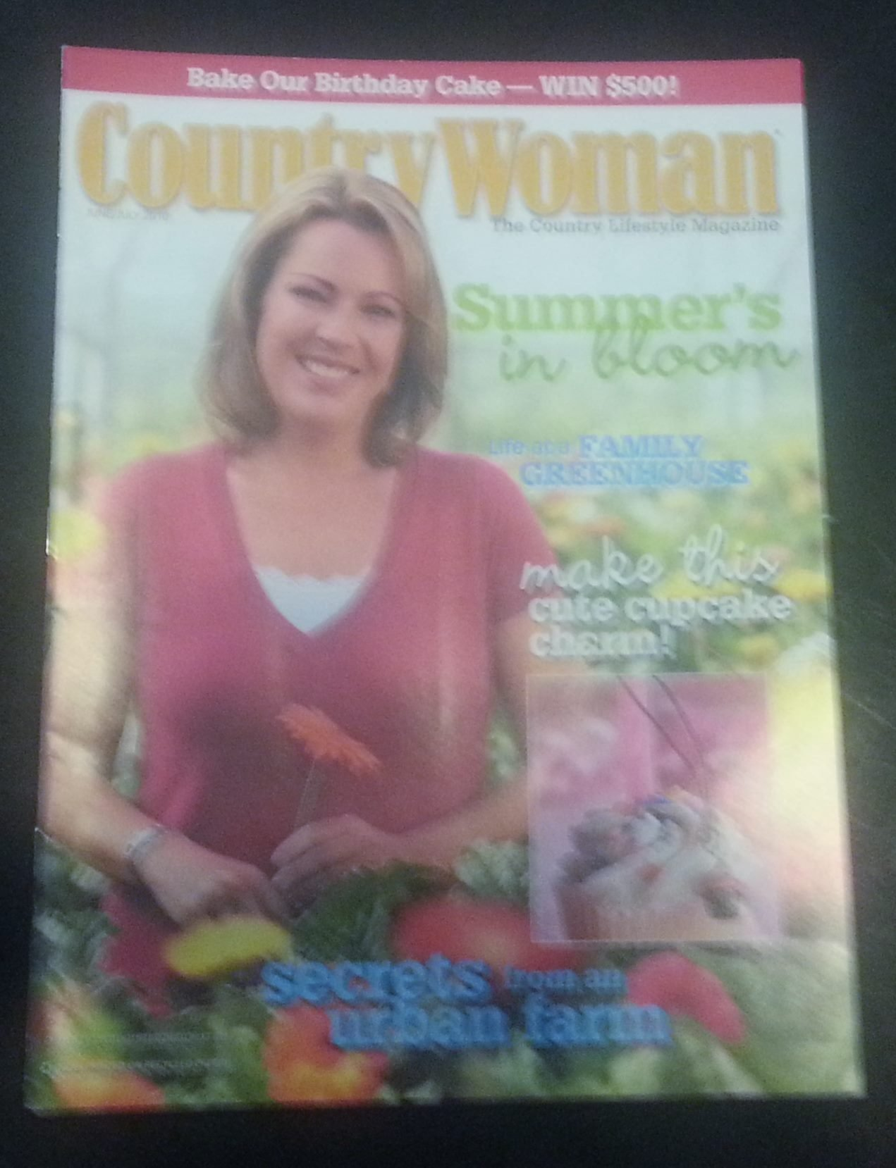 Country Woman Magazine, June/July, 2010