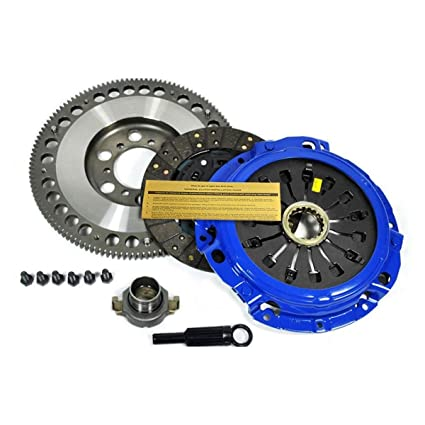 Amazon.com: EFT STAGE 2 CLUTCH KIT+CHROMOLY FLYWHEEL 93-95 MAZDA RX-7 RX7 TURBO FD 13B-REW: Automotive