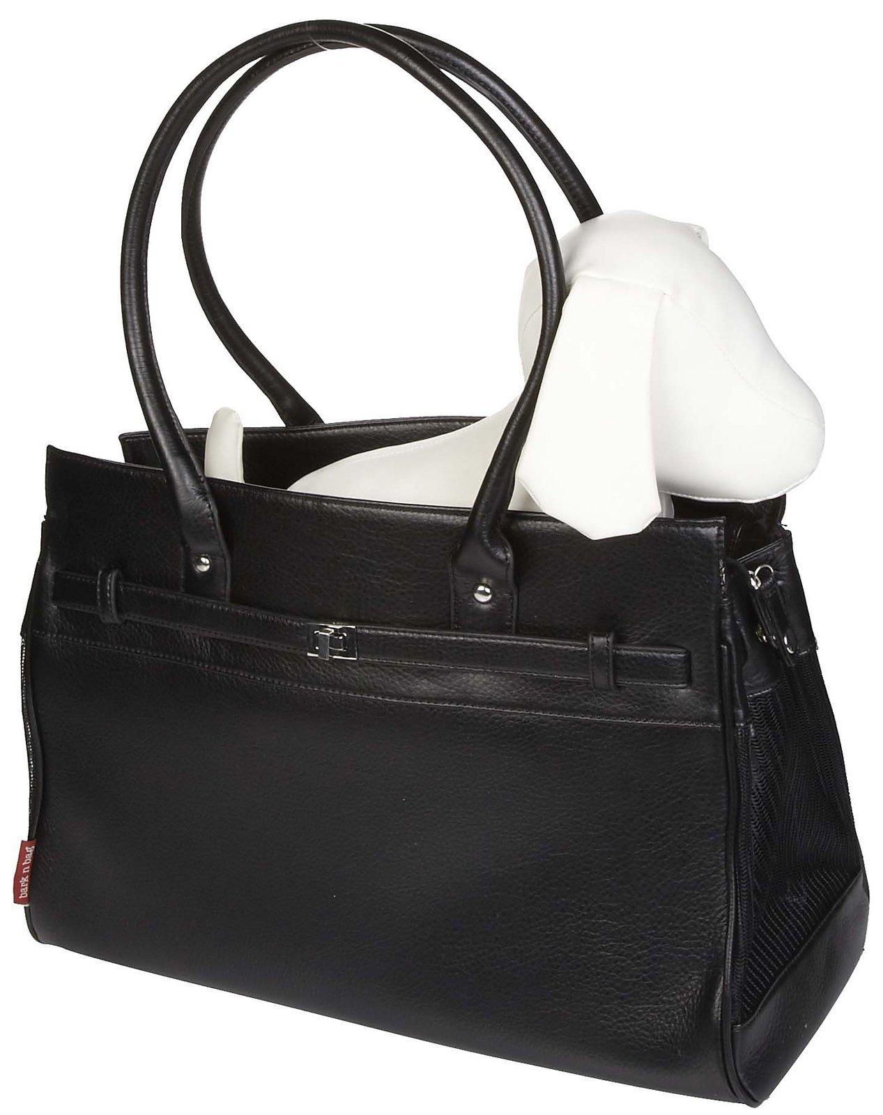 Bark-n-Bag Monaco Pet Tote - Black by Bark-n-Bag