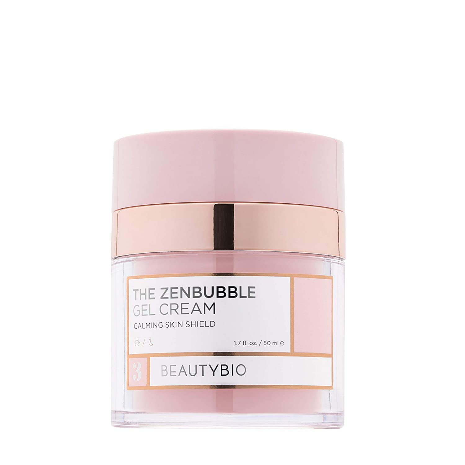 BeautyBio Zenbubble Gel Cream. Helps reduce the visible effects of stress: redness, breakouts, accelerated wrinkling, excessive dryness and enlarged pores, 1 ct.: Premium Beauty