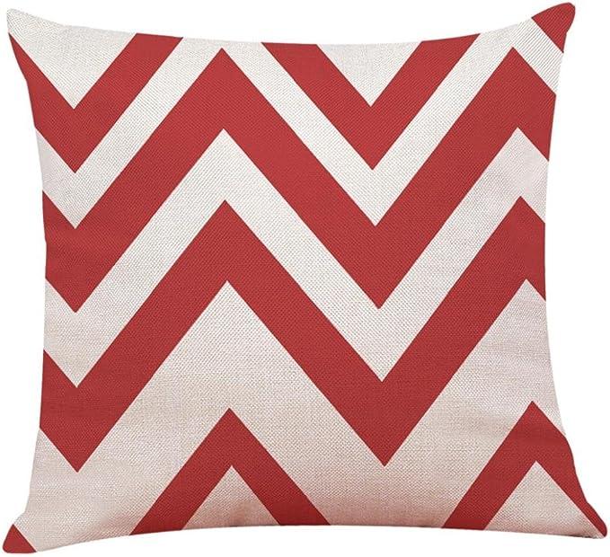 Federe Cuscini Economiche.Cloom Federa Casa Arredamento Cuscino Coprire Rosso Geometrico