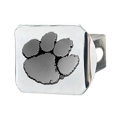 FANMATS NCAA Clemson University Tigers Chrome Hitch Cover: Automotive