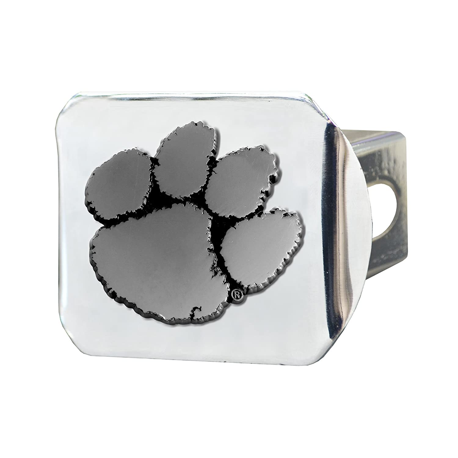 Fanmats NCAA Clemson University Tigers Chrome Hitch Cover 15079