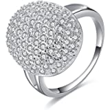 "Lureme Twilight ""Eclipse"" Bellas Engagement Ring Prop Replica (rg001818)"