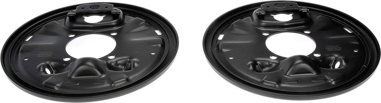 Dorman 924-658 Rear Brake Backing Plate for Select Cadillac/Chevrolet/GMC Models, 1 Pair