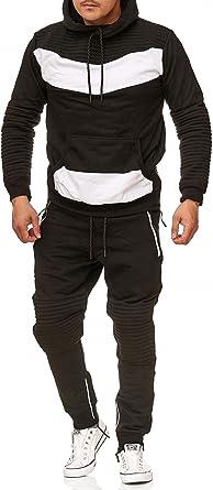 Conjunto de jogging para hombre, diseño de piel 610, 100 % algodón ...