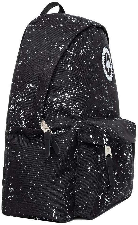 Hype Speckle Backpack Bag Black//White