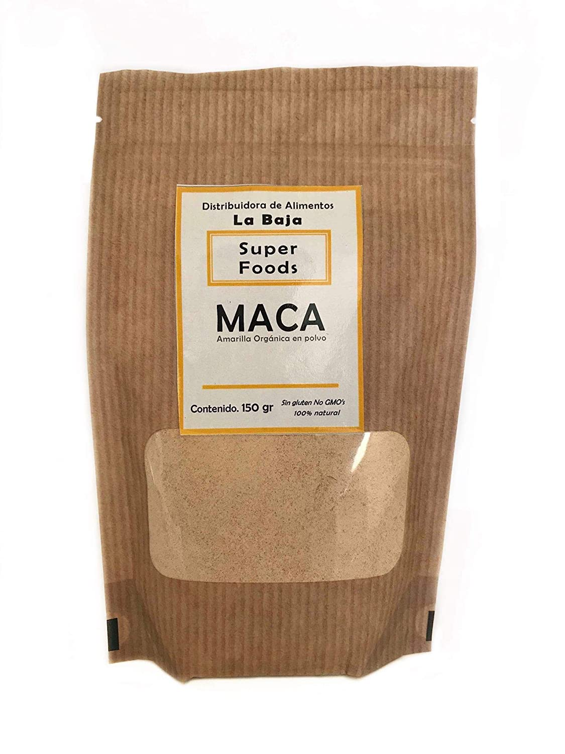 Amazon.com : Maca Organic Raw Powder - 100% Pure Organic ...