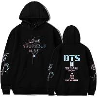 Lifestylle Kpop BTS Hoodie Love Yourself Hooded Suga Jungkook V Jimin Rap Monster Sweater Sport Jacket Pullover Sweatshirt