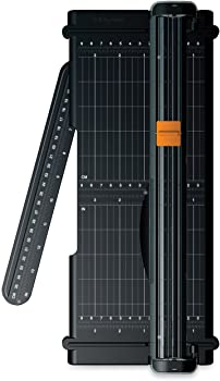 Fiskars SureCut Portable Paper Trimmer with Recycled Cutline