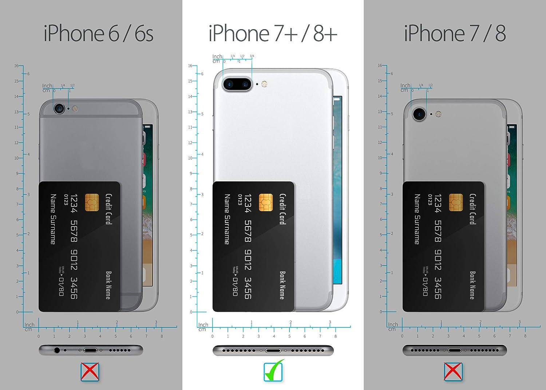 MyGadget Funda Completa 360 Grados para Apple iPhone 7 Plus / 8 ...