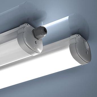 Gut gemocht LED Wannenleuchte RAPTER 48W Feuchtraum Leuchte Hallenleuchte Tube OZ59