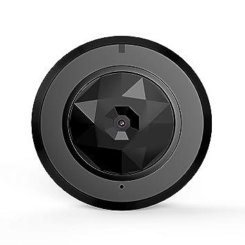 TBY Cámara Inalámbrica WiFi Monitor Inteligente Interior Mini HD Cámara Celular Visión Nocturna Sin Luz Lente