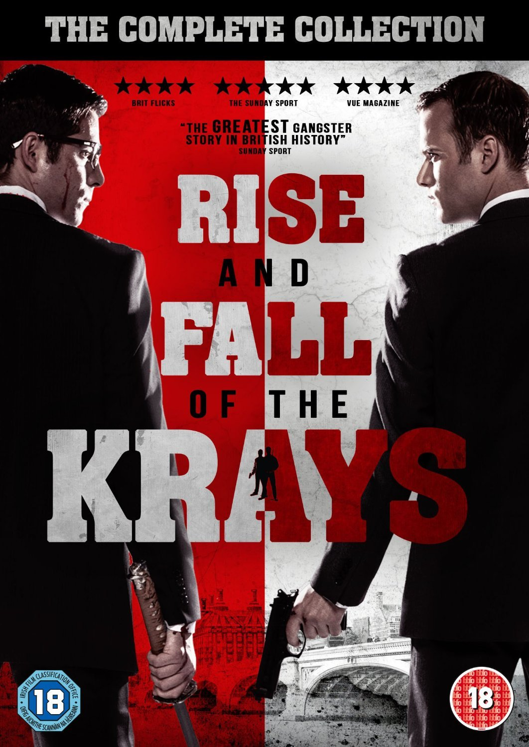 The Rise And Fall Of The Krays [DVD] [2017]